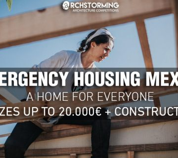 مسابقه طراحی Emergency Housing Mexico a Home for Everyone